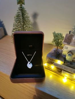 Breastmilk Mother and Child Necklace