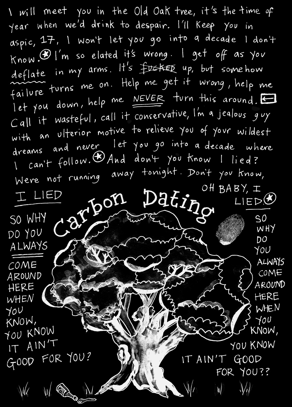 Carbon Dating Lyrics