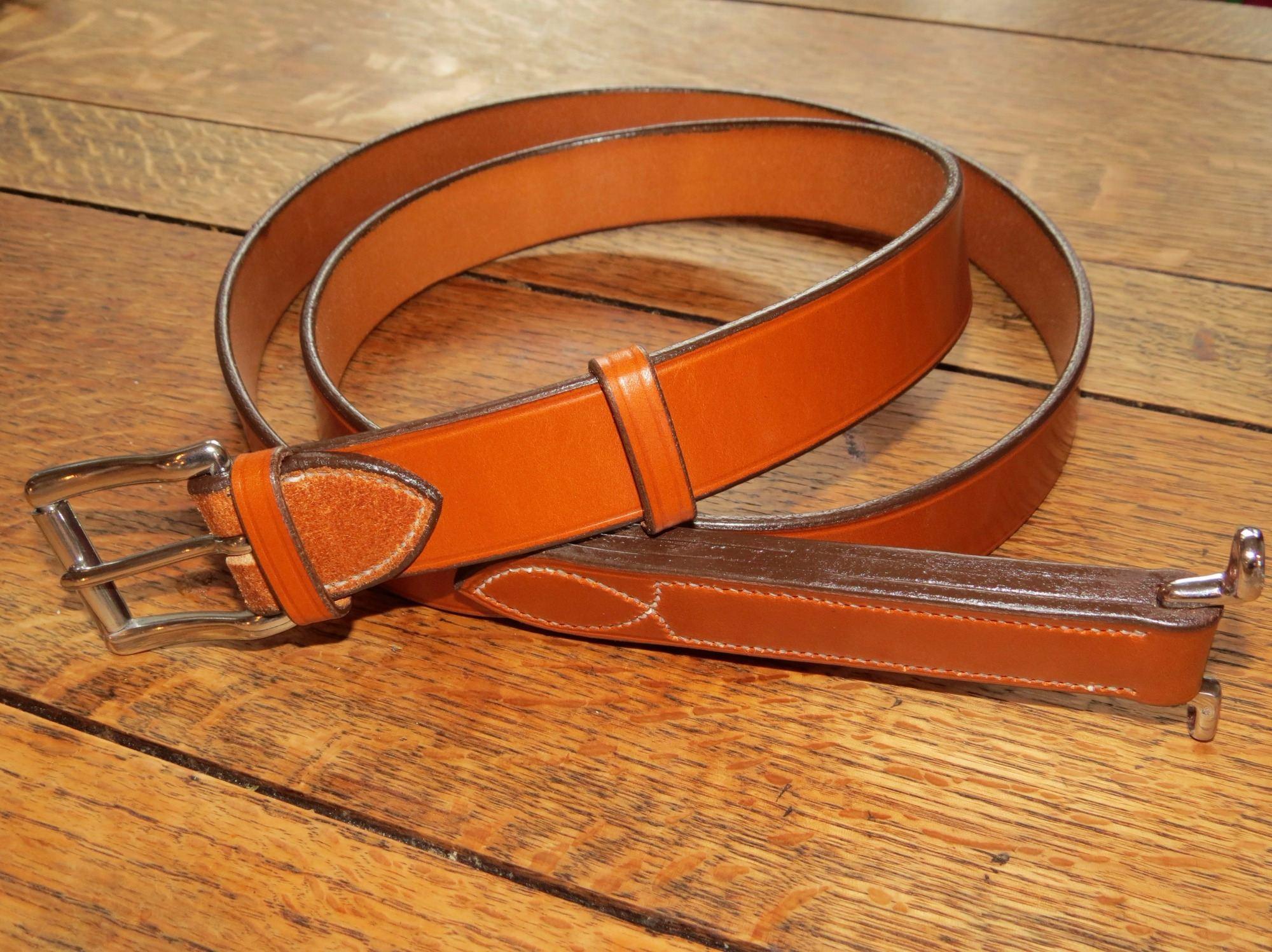 English Bridle Leathers