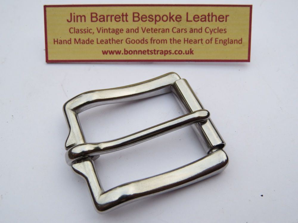West End Roller Buckle Chrome Plated
