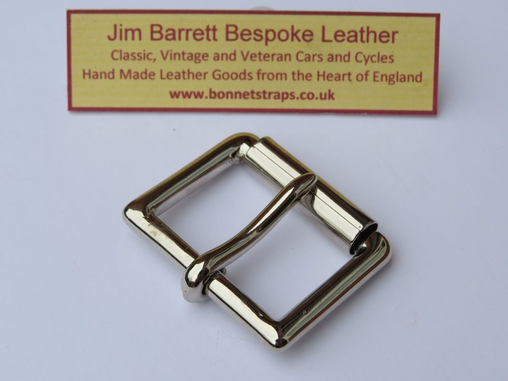 Standard Roller Buckle Nickel Plated