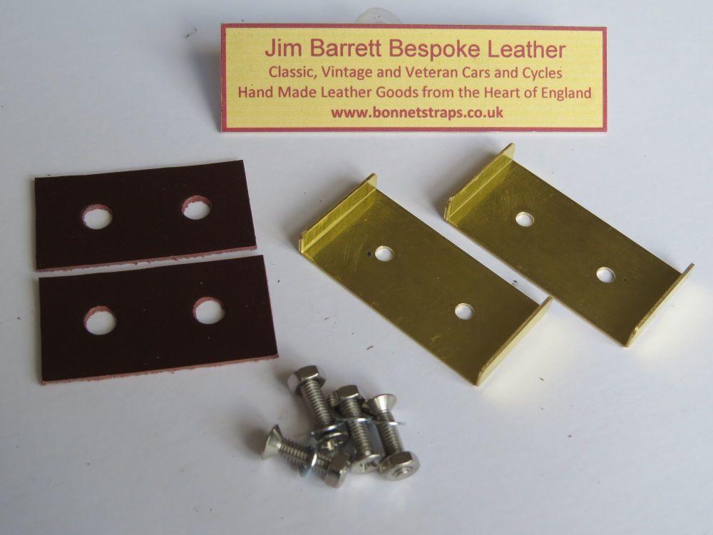 Bonnet Strap Guide Plate
