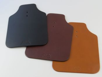 Leather Mud Flaps for Brompton