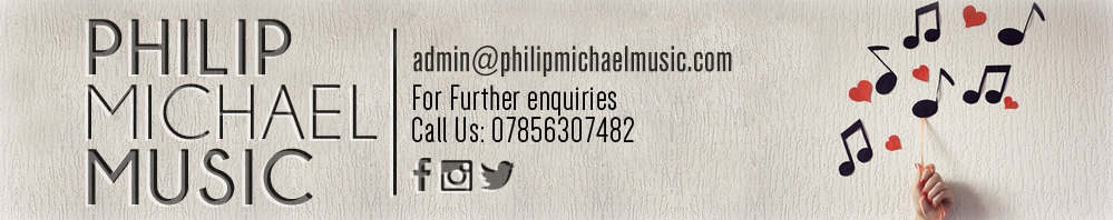 PHILIP MICHAEL MUSIC, site logo.