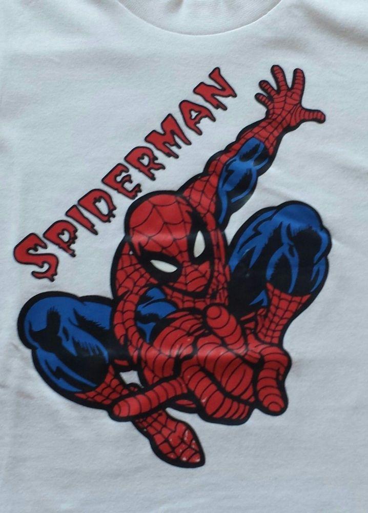 Spiderman /Spider-man Kids Baby Boys Tshirt Short Sleeve T-Shirt Summer Tee