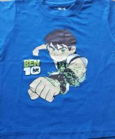 BEN10 / BEN TEN Bule Print Kids Boys Top Short Sleeve T Shirt 100% Cotton 2-3 YEARS