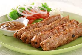 Export Quality Halal Frozen Chicken Seekh Kebabs