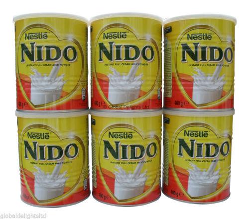 Nido dry Milk 400g x 24  Nido Milk Powder