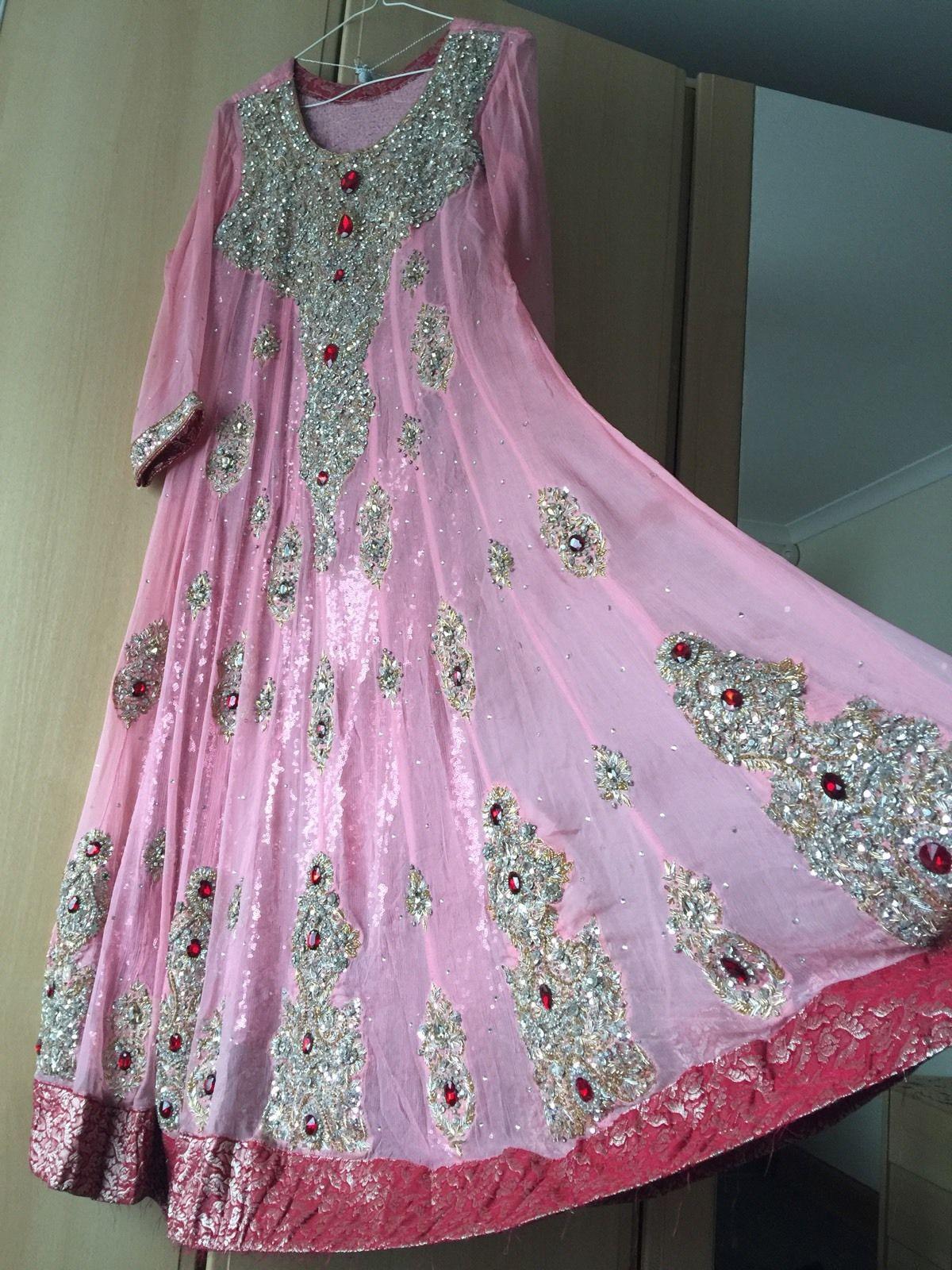 c25360a7a992 Ladies Asian Indian Pakistani Anarkali Wedding Boutique Designer ...