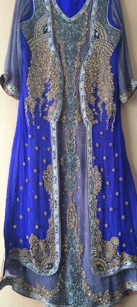 Ladies Women girls Asian Pakistan Indian Wedding Boutique Designer Party Dr