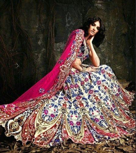 4b7133536 Ladies Asian Indian Pakistani Anarkali Wedding Boutique Designer Lehnga Par