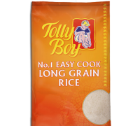 Tolyboy easy cook Rice 10kg Bag Asian Rice Cooking Vegetarian Indian Pakistani Rice Food