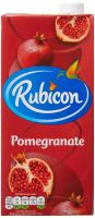 ORIGINAL/GENUINE FRESH JUICE RUBICON POMEGRANATE FLAVOUR 1LTR X 12  SHIP FROM UK