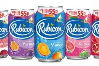 ORIGINAL  RUBICON CANS 330ML X 24   FIVE FLAVOURS AVAILABLE  SHIP FROM UK