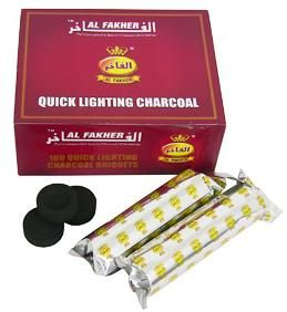 AL FAKHER  CHARCOAL 1KG X 12  original alfakher charcoal  SHIP FROM UK