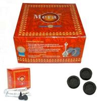 Genuine Mera Coal Tablets Nargila Instant Meera  Disc Charcoal 80 pcs