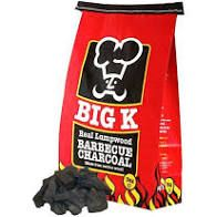 Genuine Original Charcoal Big K  Instant Charcoal 3kg