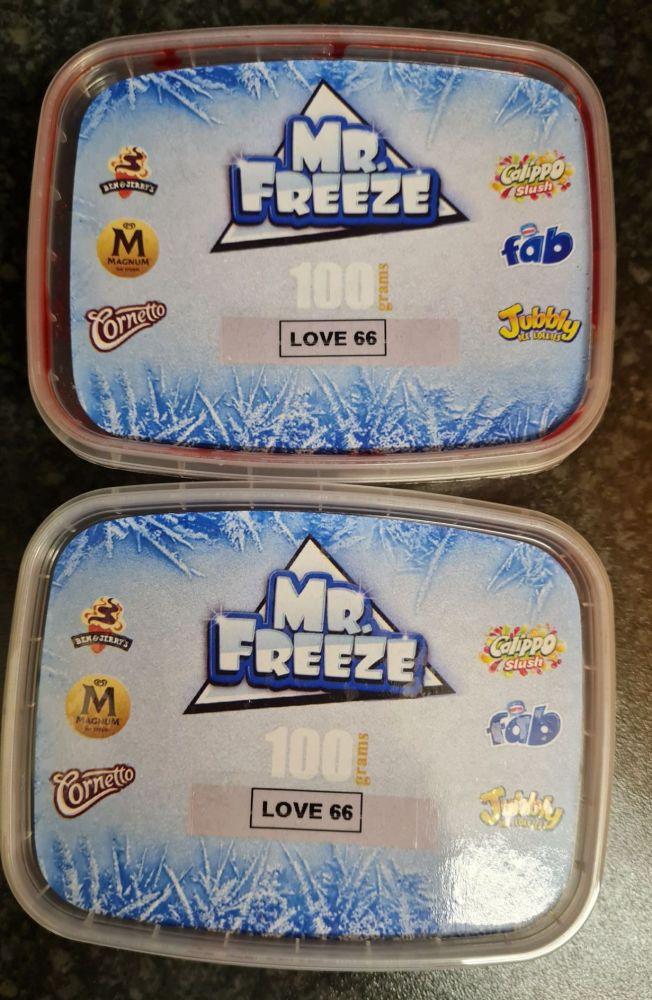 LOVE 66 FLAVOUR 100G x 2 Original Genuine Mr.Freeze Love 66 Flavour