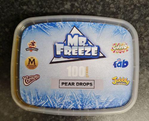 PEAR DROPS FLAVOUR 100G  Original Genuine Mr.Freeze PEAR DROPS FLAVOUR