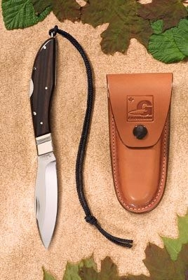 DH Russell Lockblade- Standard model with Rosewood handle