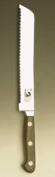 """FORGED Bread Knife; serrated blade 8"""""""