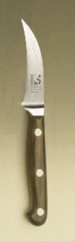 FORGED Paring Knife; curved blade 3""
