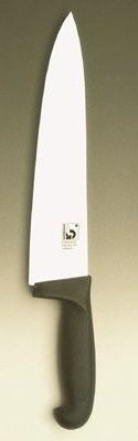 POLY Chef knife; straight blade 10