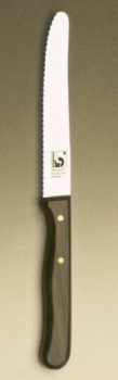 "REGULAR Tomato knife / steak knife; serrated 4"" blade"