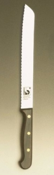 REGULAR Bread knife; serrated blade 8""