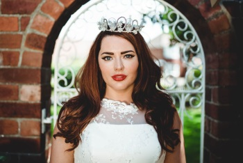 Vintage Diamante Crown