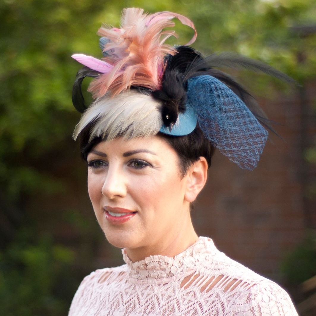 Feathered Fancy Vintage Hat