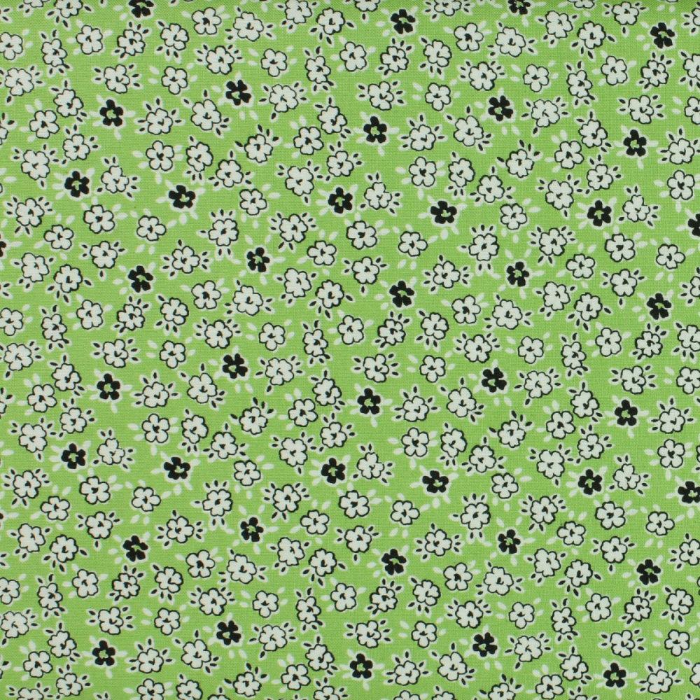Windham - Playdate - Floral - Green