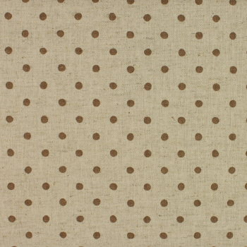 Sevenberry - Linen Mix - Brown Spot on Stone (£14pm)