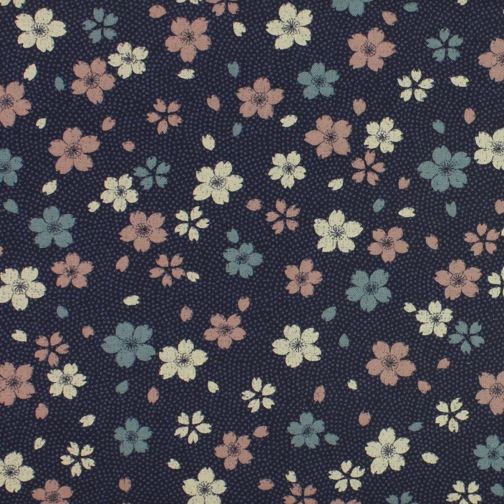 Sevenberry - Vintage Flowers on Navy