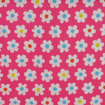 Sevenberry - White Flowers on Pink (£12pm)