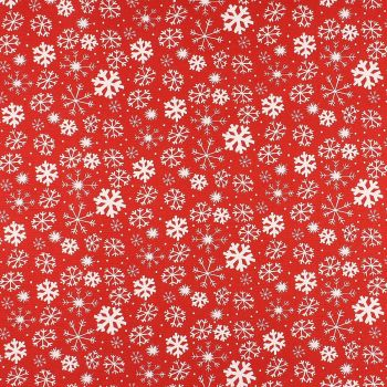 Christmas Snowy - Red
