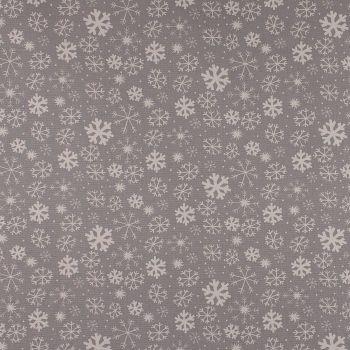 Christmas Snowy - Grey