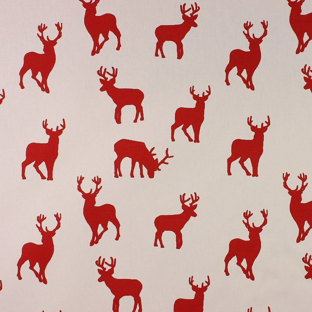 Christmas Stag - Red