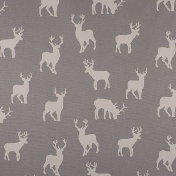 Christmas Stag Silver