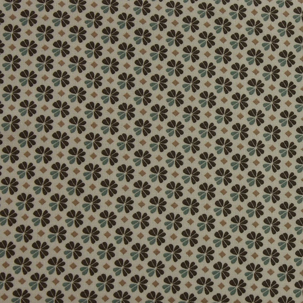 Julia - Small Flower - Naturals (150cm wide fabric)