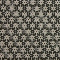 Julia - Solid Flower - Grey & Pink (150cm wide fabric) (£11pm)