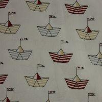 Indigo Fabrics - Baby Boom - Vessel (150cm wide fabric) (£11pm)