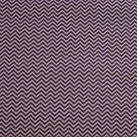 Rico Fabrics - Violet Zig Zag (160cm wide fabric) (£12pm)