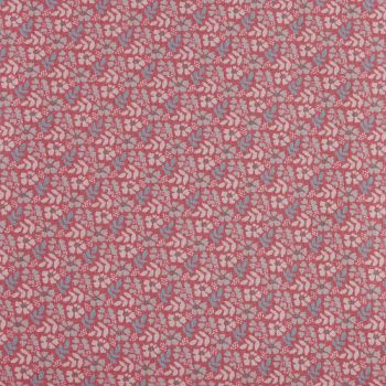 Fabric Freedom - Floral Print - Flower & Fern in Pink (£8pm)