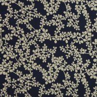 Navy Floral Paste Print (£7pm)