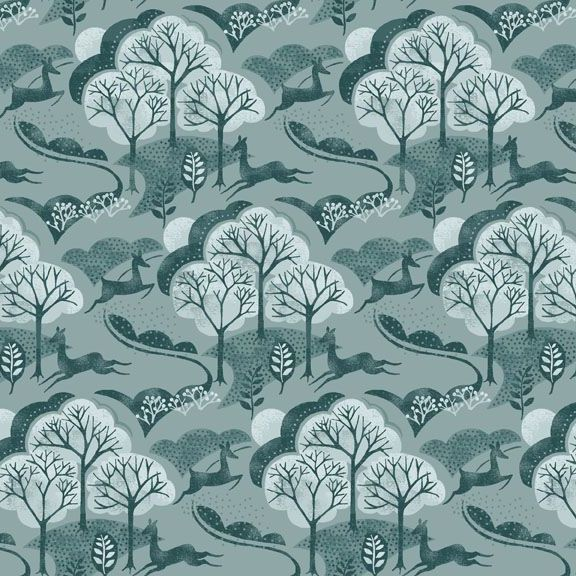 Makower - Into The Woods - Landscape in Grey