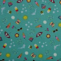 Lewis and Irene Whatever the Weather Summer Novelty Patchwork Quilting 100% Cotton Fabric (£12pm)