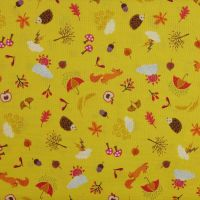 Lewis and Irene Whatever the Weather Autumn Novelty Patchwork Quilting 100% Cotton Fabric