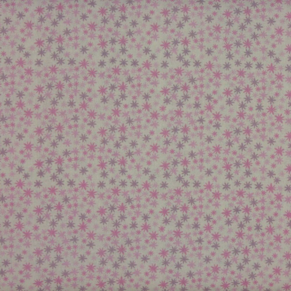 Indigo Fabrics - Twinkle in Pink (150cm wide fabric)