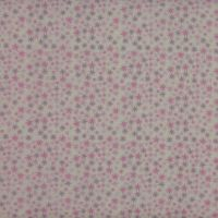 Twinkle Stars  in Pink (150cm wide fabric) (£12pm)